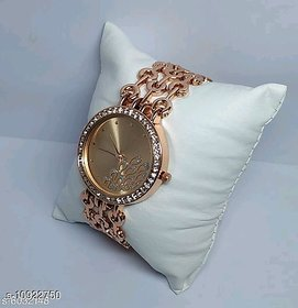 Hrv Rose Gold Classic Women Watches