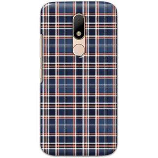 Digimate  Latest Design High Quality Printed Designer Soft TPU Back Case Cover For Motorola Moto M - 3039