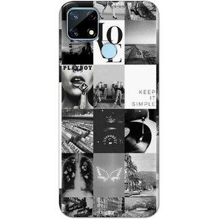 Digimate  Latest Design High Quality Printed Designer Soft TPU Back Case Cover For Realme Narzo 20 - 3104