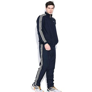 A'didas Men's Navy Polyester Tracksuit
