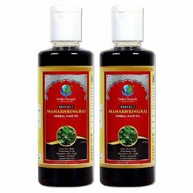 Prithvi Naturals Perfect Mahabhringraj Herbal Hair Oil For Growing New Hairs And Scalp Nourishment, Best Combo Mahabhri