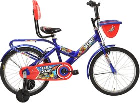 BSA DOODLE 16 PURBLE BICYCLEHEIGHTUPTO110-120CM