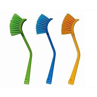 ARAVI Wash basin and Sink cleaning Brush Brush (03 pcs)