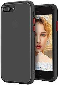 Innotek Smoke Back Cover for I-Phone 6Plus Smoke Shock Proof Smooth Rubberized Matte Hard Back Case Cover  [Black Smoke]