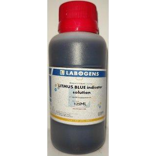 LITMUS BLUE (pH INDICATOR) SOLUTION   - 125 ML