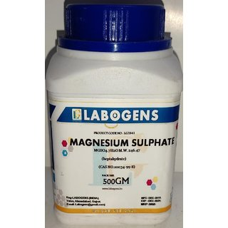 MAGNESIUM SULPHATE HEPTAHYDRATE 99 Extra Pure - 500 GM