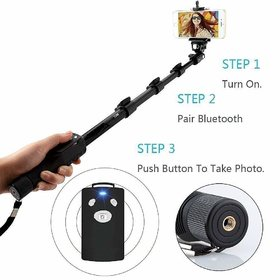 Latest YT-1288 Bluetooth Selfie Stick with Remote