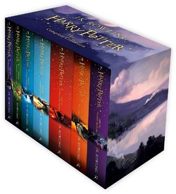 Harry Potter Box Set The Complete Collection (Childrens Paperback) (Set of 7 Volumes)