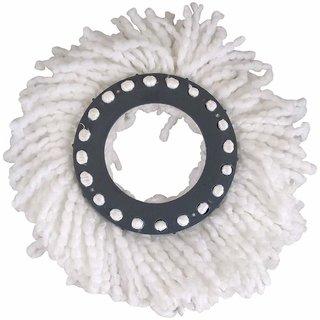 Aravi Mop Head Refill (White) - (Pack of 1)