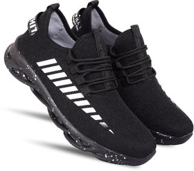 Spain Black casual sports shoes for men's
