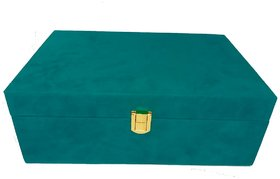 DURGA RATAN  trunk box special all festival and jewellery VELVET BOX / SUEDE BOX