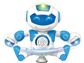 Stunt Robot with Dance Song Story and English Learning for Kids