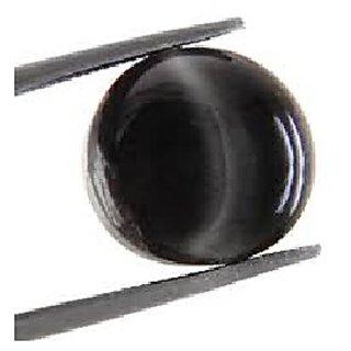 7 Carat Original Created Certified Black cat's eye StoneBy Ratan Bazaar
