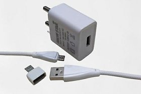 DOGRA MOBILE CHARGER ,AND OTG FOR PENDRIVE COMBO SINGLE SLOT FOR ANDROIDWHITE