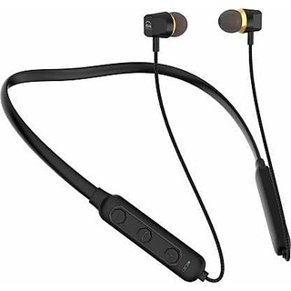S4 Ui Titanic Series Wireless Neckband In the Ear Headset (Black)