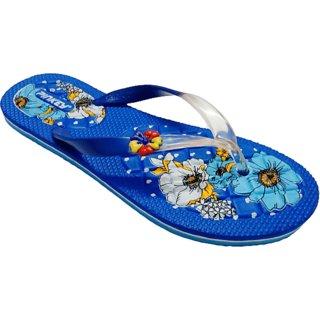 PINKEY Ladies Casual Thong (GINNI-110(BLUE)