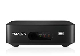 Tatasky HD BOX only with one month Hindi Lite HD  PACK Without Outer DISH Fitting