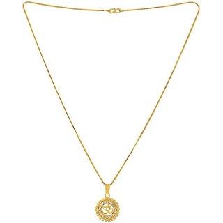 INFINITE GREEN Om idol Pendant Original Gold Plated Locket