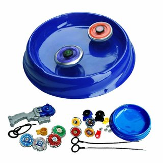 Abhitoys24 New compatible multi special beyblades combo set (stadium)- Multi color