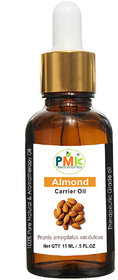 PMK Pure Natural Almond Carrier Oil (15ML)