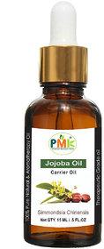 PMK Pure Natural Jojoba Cold Pressed Carrier Oil (15ML)