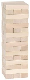 Tower Tumbling Game for Kids and Adults, Wood Block Stacking Game with 48 Pieces01