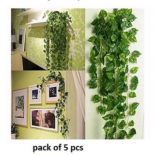 beautiful artificial money plant leaves