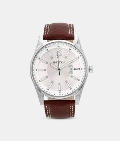 Titan 9322SL03 Stylish Watch With Date Indicator