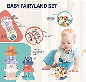 Baby Fairyland Set with Rattles, Stacks and Multifunctional Remote