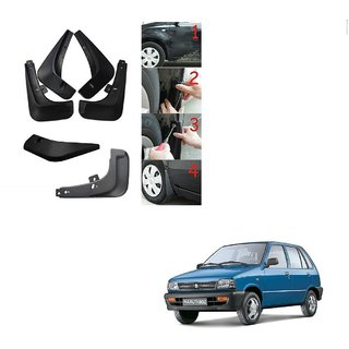 Kozdiko Car O.E Type Mud Guard Flaps For Maruti Suzuki 800
