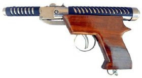 Mannat 007 Thunder Wooden Air Gun With 100 Pallets For Shooting Practice