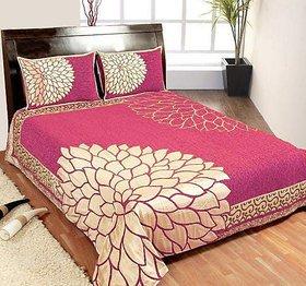 Chenille Velvet Queen Bedsheet by Panipat Creations