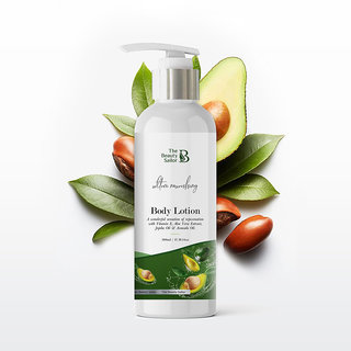 The Beauty Sailor Body Lotion With Avocado, Aloe Vera, Jojoba Oil  Vitamin E, No Sulphate, 300 Ml