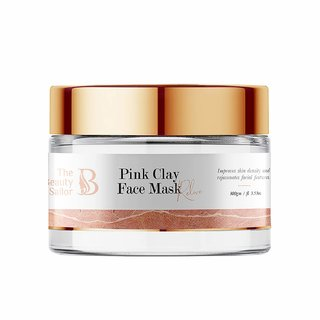The Beauty Sailor Pink Clay Face Mask, Avocado, Vitamin C  E, No Paraben  No Sulphate, 100 GM