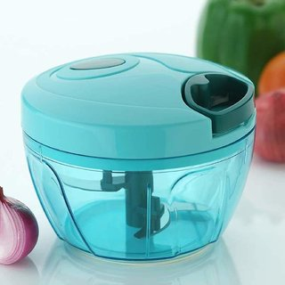 Easy Pull Smart Multicolor Plastic Vegetable Choppers  Dicers