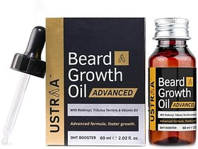 Ustraa Beard Growth Oil Advanced (60 ml)