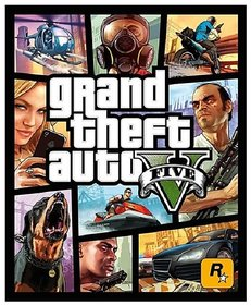 Grand Theft Auto V -GTA 5 Rockstar Open World PC Games