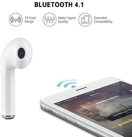 TWS HBQ-i7 Stylo Singlear Bluetooth Earphone