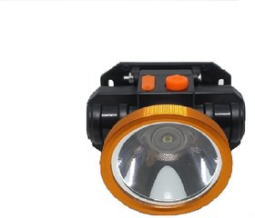 Mettstone  Laser Rechargeable Head Torch with Lithium-ion Battery for Farmers, Fishing, Camping, Hiking, Cycling,
