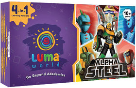 Alpha Steel All-in-one STEM Activity Kit