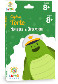 Luma World Educational Flash Cards for Ages 8 and Up Captain Torto