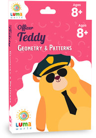 Luma World Educational Flash Cards for Ages 8 and Up Officer Teddy