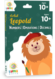 Luma World Educational Flash Cards for Ages 10 and Up Artist Leopold
