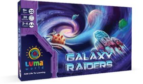 Luma World Educational Board Game for Ages 9 and up Galaxy Raiders