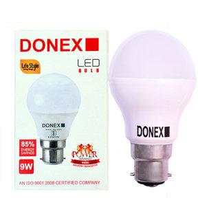 Donex 9W LED Bulb (Pack of 8 ,Cool Day Light)