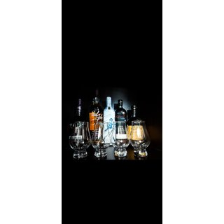 A.S. CREATION Indian Whiskey Tasting Glass, Set of (4) 260 ML