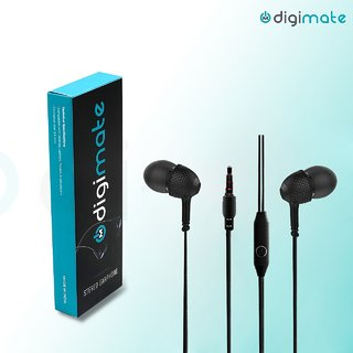 Digimate In the Ear Wired Earphones With Mic