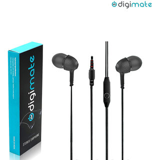 Digimate In the Ear Extra Bass Wired Earphone With Mic