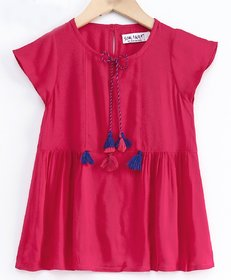 Soul Fairy Rayon Top With Tassles And Dori