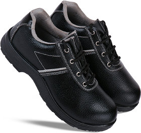 Bersache Men Black Casual Safety Shoes